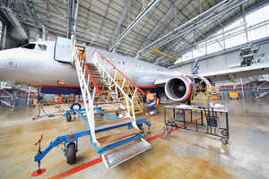 The false alarm resistance of the detectors, combined with their reliability and rapidity of detection makes Talentum ideal as a fire detection solution in an aircraft hangar.
